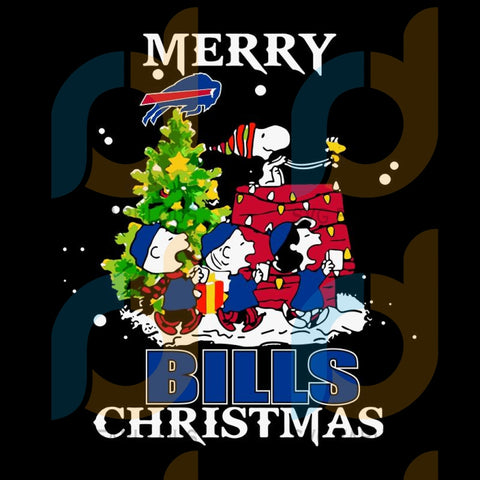 Snoopy merry Buffalo Bills Christmas svg, Buffalo Bills svg, NFL svg, NFL logo svg, NFL svg, Football svg, png, Logo sports