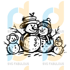 Snowman svg, Family svg file, New Years svg Merry Christmas svg, merry xmas svg, christmas svg, christmas party, merry christmas svg, christmas saying svg, christmas clip art