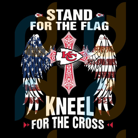 Stand For The Flag Kansas City Chiefs,NFL Svg, Football Svg, Cricut File, Svg