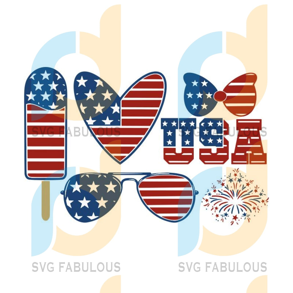 the 4th of July SVG Bundle, fourth of july svg, merica svg, patriotic svg, america svg, independence day svg, usa flag svg, fireworks svg, png