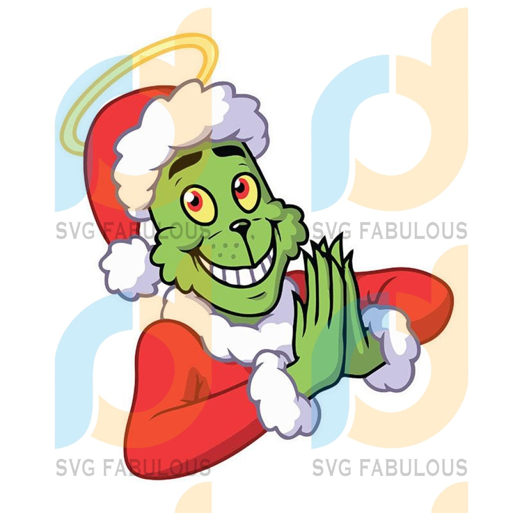 The Grinch Christmas Pray Svg, The Grinch Svg, Dxf, Png Digital
