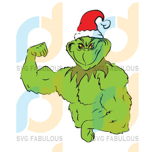 The Grinch Gym Christmas Svg, Dxf, Png Digital