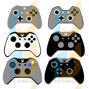 Xbox Controller Svg, Gaming Svg, Video Game Controller, Gaming Sticker, Gamer Nerd Remote Cover SVG, DXF, EPS, PNG Instant Download