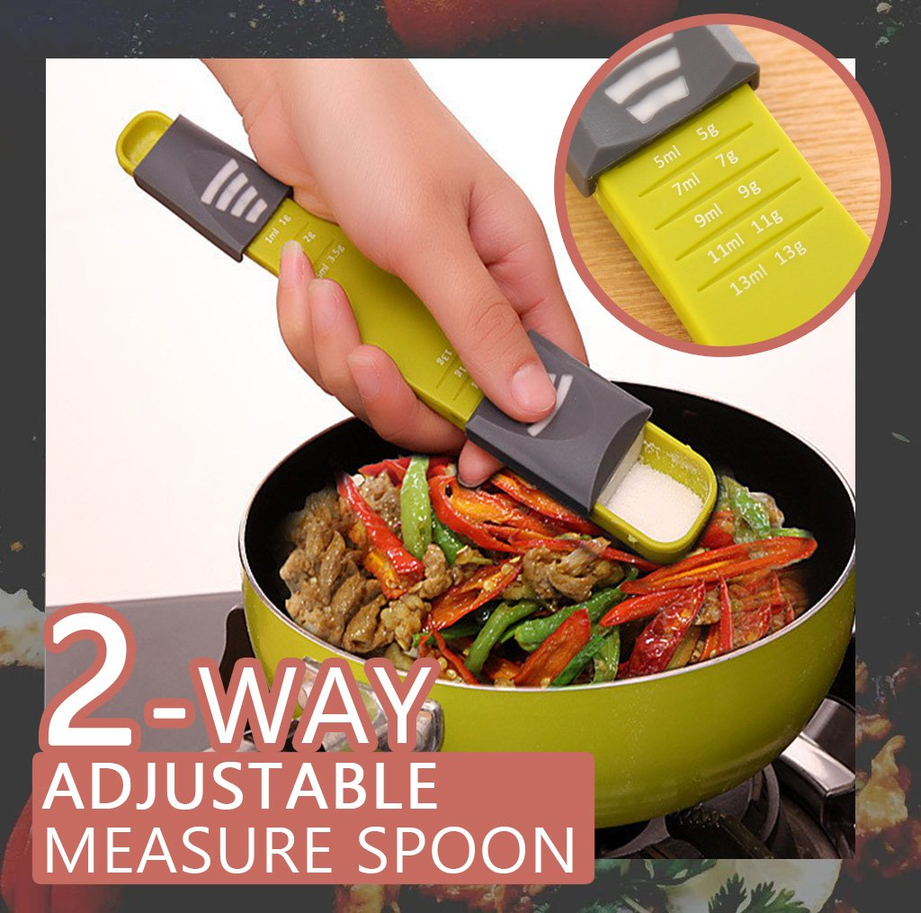 2-way Adjustable Measure Spoon