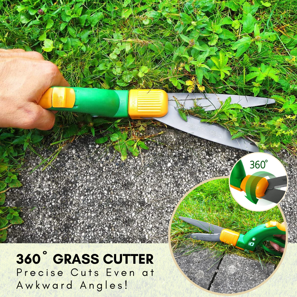 360º Rotation Grass Cutter