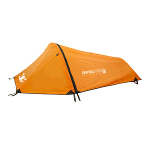 Orange Bivy Tent with Rain Fly