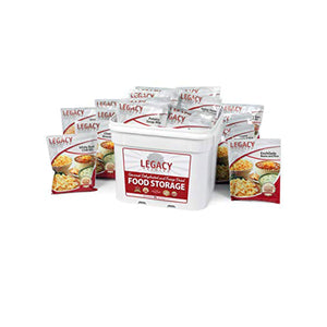 120 Serving Entree Bucket - Emergency Food by Legacy Food Storage