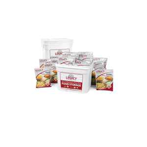 Premium 240 Serving Package by Legacy Food Storage