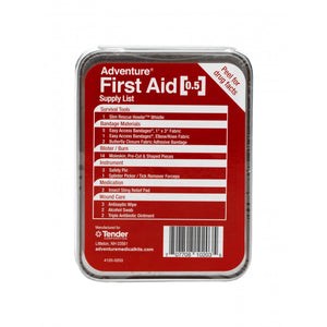 ADVENTURE FIRST AID, 0.5 OZ TIN