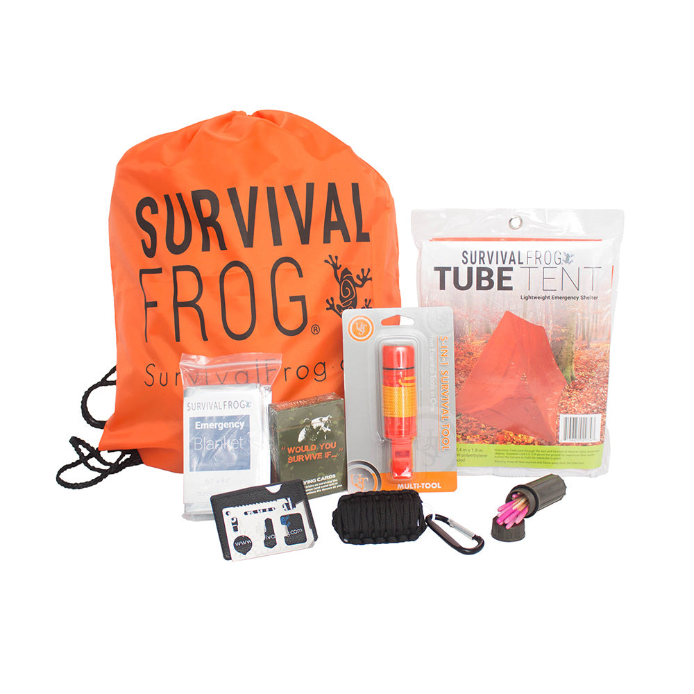 Lifeshield® Survival Grab Bag By Frog & Co By Frog & Co.