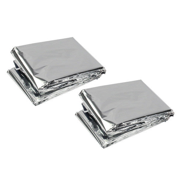 Emergency Survival Blankets by Survival Frog - 1 Pair - Survival Frog eb5193237