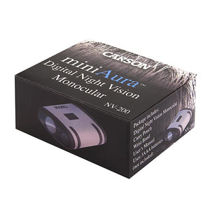 Mini Aura Digital Night Vision Monocular by Carson - Survival Frog
