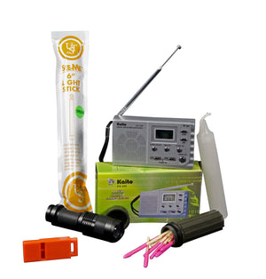 Emergency Light & Communications Survival Kit - Survival Frog