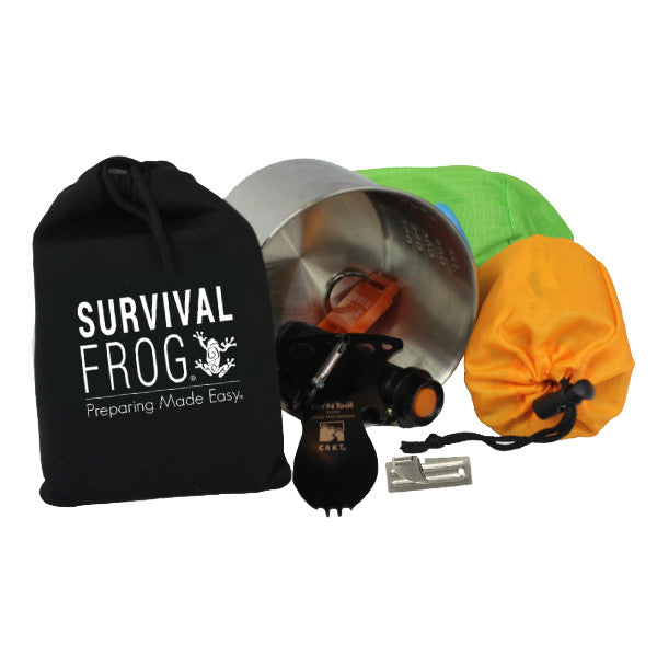 Lifeshield® Mini Tact Survival Kit By Frog & Co By Frog & Co.