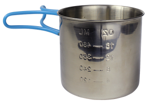 Stainless Steel Camping Cup by Survival Frog - Survival Frog