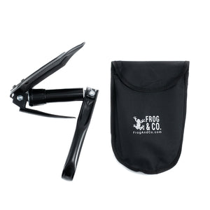 The Digger Folding Shovel w/ Pick by Frog & CO