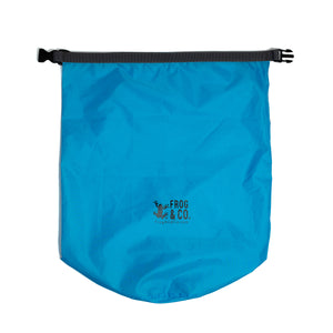 Blue Lightweight Dry Bag Laying Flat