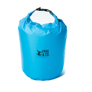 Small 20 L Blue Dry Bag, Full of Air
