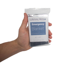 Emergency Survival Blankets by Survival Frog - 1 Pair - Survival Frog