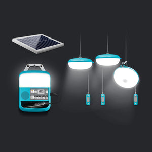 BioLite Solar Home 620 Kit with black background