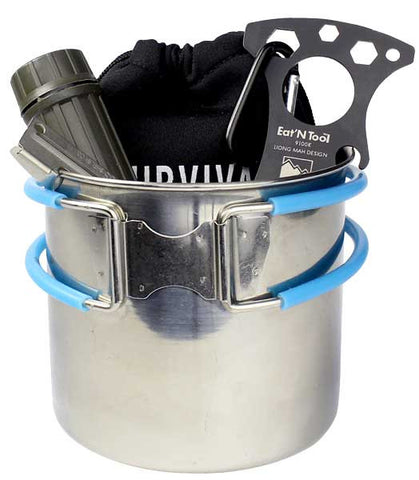1-Person Mess Kit by Survival Frog