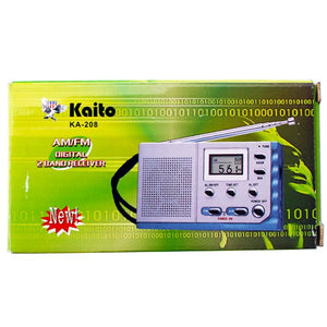 Kaito KA208 Credit Card Sized Portable Radio - Survival Frog