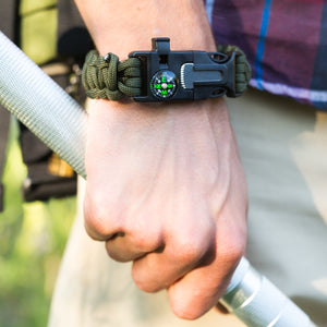 Paracord Survival Bracelet by Frog & CO