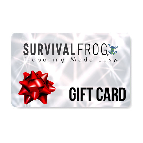 Survival Frog e-Gift Card - Survival Frog