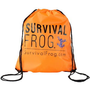 Survival Frog Orange Rescue Bag - Survival Frog