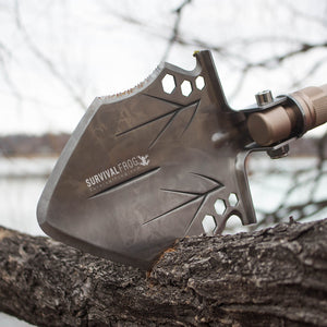 Stealth Tact Shovel - Modular Multifunction Entrenchment Tool - Survival Frog