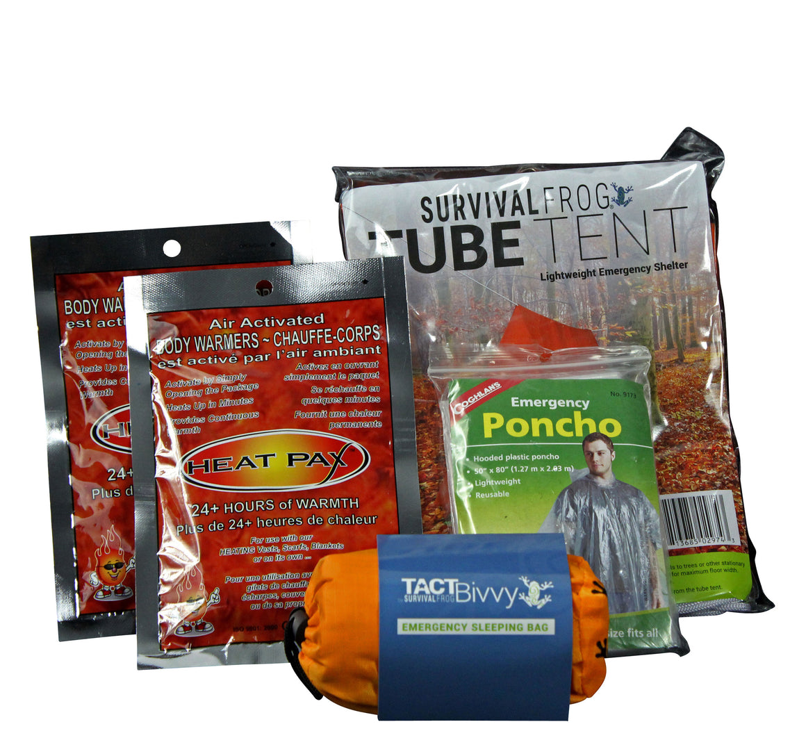 Warmth & Outdoor Shelter Kit - Survival Frog