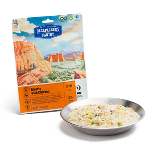 Risotto with Chicken 2 Servings by Backpacker's Pantry