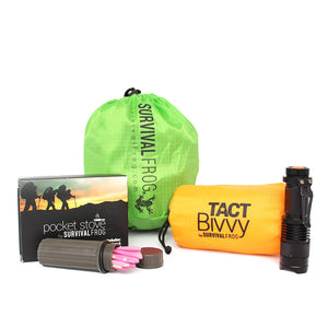 Essential Survival Gear Pack PLUS by Survival Frog - Survival Frog
