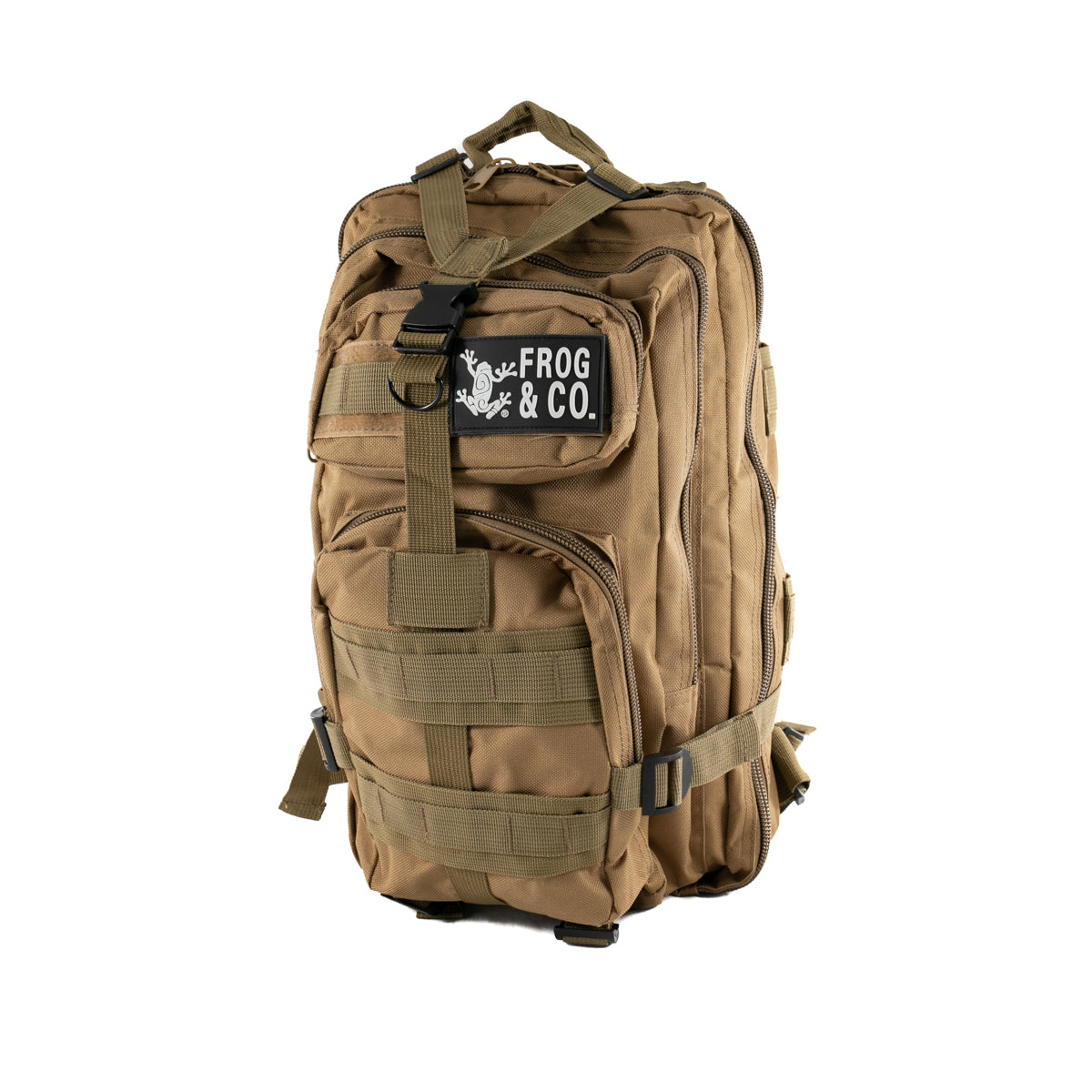 Water Resistant Tactical Backpack By Frog & Co.