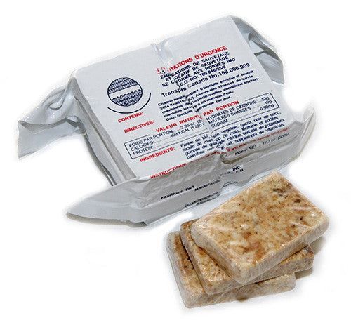 Great Tasting, Emergency Food Ration - 2400 Calorie Food Bar - Survival Frog