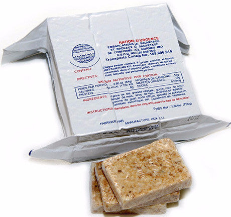 Great Tasting, Emergency Food Ration - 3600 Calorie Food Bar By Sos Food Lab