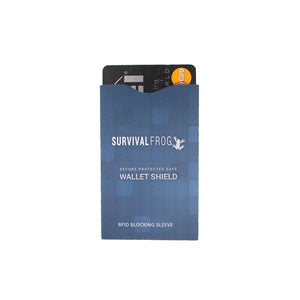 SAFE WALLET SHIELD RFID BLOCKERS FOR CREDIT & DEBIT CARDS - 4 PK