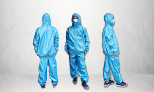 High Quality PPE Suit With Free Face Mask, Water Repellent, Washable and Reusable, Available in Taffeta SBL or Poly Microfiber
