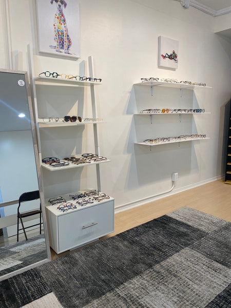 Los Angeles SureOptix Showroom Eye Glass Superstore, Get in and out in 15 minutes! Custom Loupes for Dentists are made here in Los Angeles