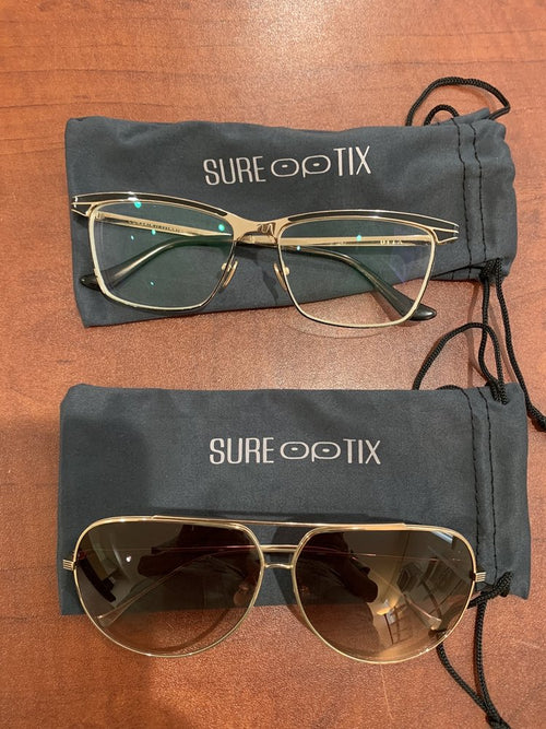 SureOptix prescription eyeglasses contains high-quality frames that comes with a one-year warranty in Los Angeles
