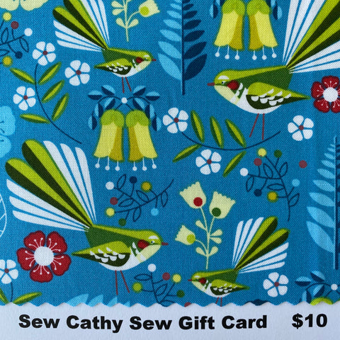 Sew Cathy Sew Gift Cards