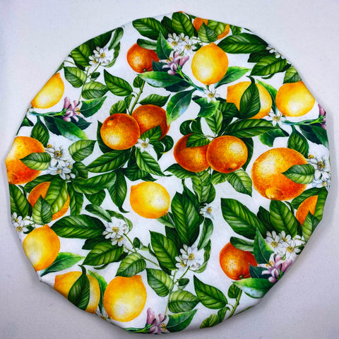 Reusable Bowl Cover - Oranges