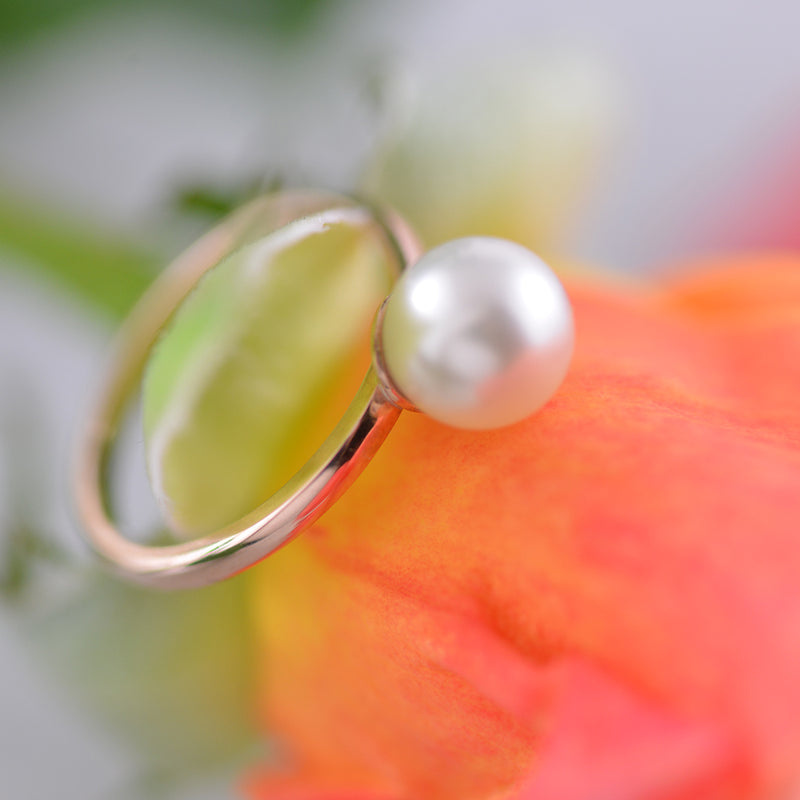 A Little Pearl Ring