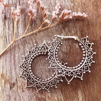 Silver Gypsy Earrings