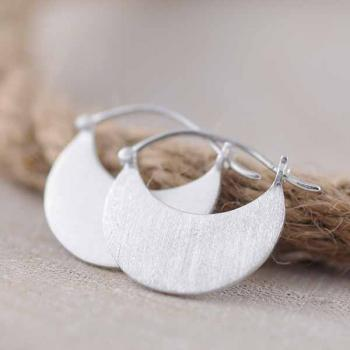 Sterling Silver Essence Earrings - 'Milestone'