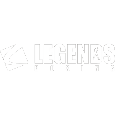 Legends White Decal - Legends Boxing