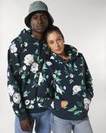Laden Sie das Bild in den Galerie-Viewer, FLORAL HOODIE - (WOMEN/MEN)