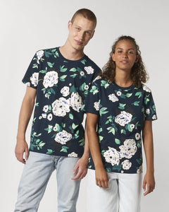 FLORAL T-SHIRT - (WOMEN/MEN)