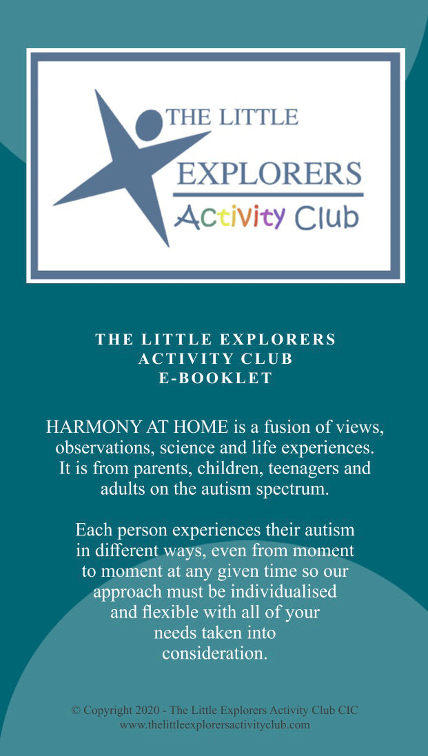 Harmony at Home E-Booklet PDF