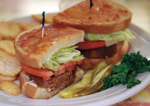 Just Good Meatloaf Sandwich
